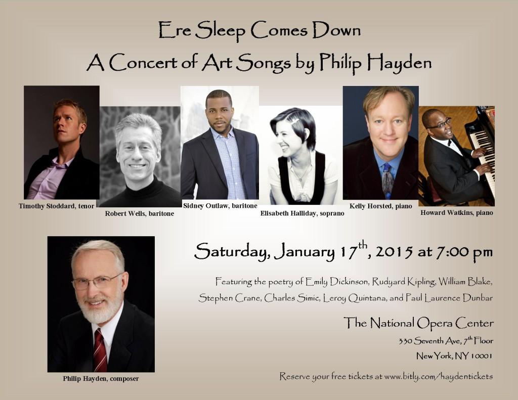 Hayden Concert Poster