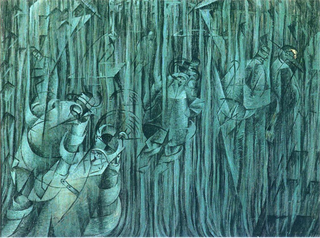 """States of Mind III; Those Who Stay, by Umberto Boccioni, 1911"" by Umberto Boccioni - http://www.wikipaintings.org/en/umberto-boccioni/states-of-mind-iii-those-who-stay-1911-1. Licensed under Public domain via Wikimedia Commons - https://commons.wikimedia.org/wiki/File:States_of_Mind_III;_Those_Who_Stay,_by_Umberto_Boccioni,_1911.jpg#mediaviewer/File:States_of_Mind_III;_Those_Who_Stay,_by_Umberto_Boccioni,_1911.jpg"